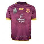 Maglia Queensland Maroons Rugby 2018 Marrone