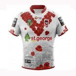 Maglia St George Illawarra Dragons Rugby 2018-2019 Conmemorative